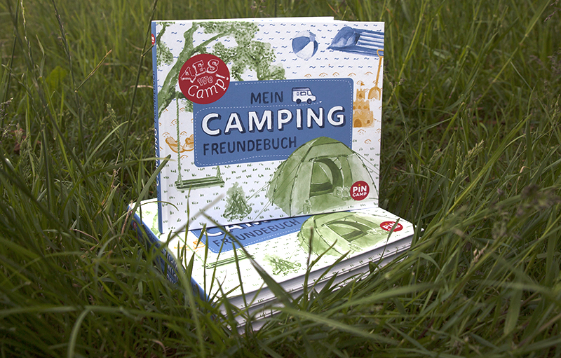 Camping-Freundebuch Cover
