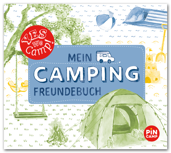 Yes we camp, Mien Camping-Freundebuch, ADAC Verlag
